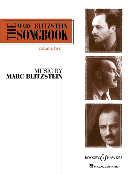 The Marc Blitzstein Songbook - Volume 2