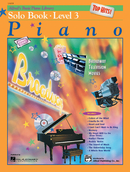Alfred's Basic Piano Course - Top Hits! Solo Book, Book 3