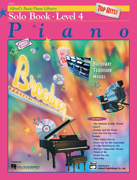 Alfred's Basic Piano Course - Top Hits! Solo Book, Book 4