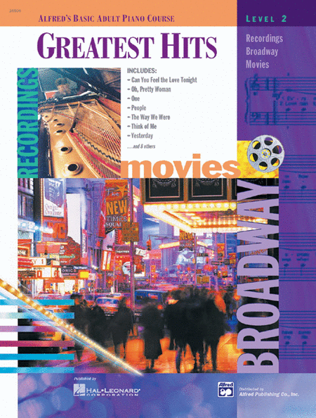 Alfred's Basic Adult Piano Course - Greatest Hits (Level 2), Book/CD