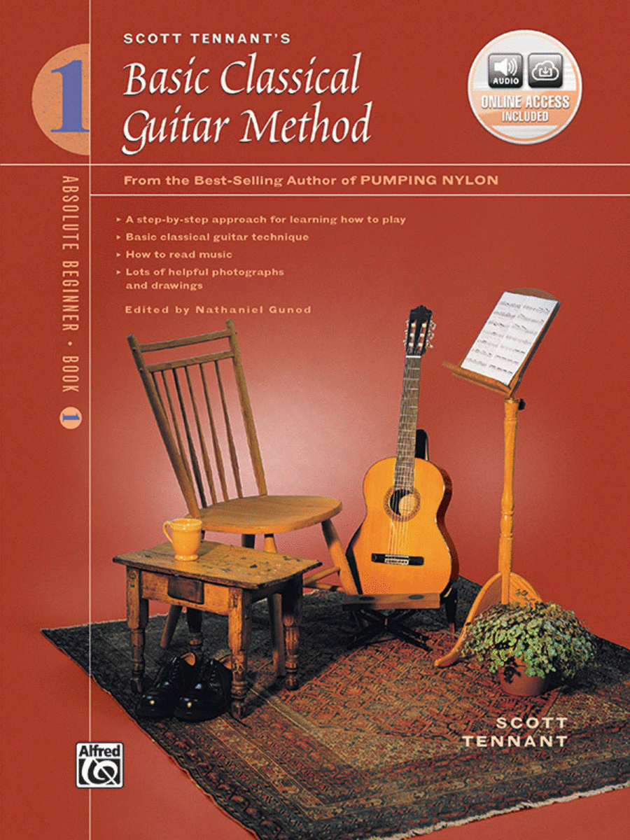 Basic Classical Guitar Method, Book 1