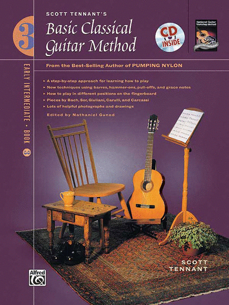 Basic Classical Guitar Method, Book 3