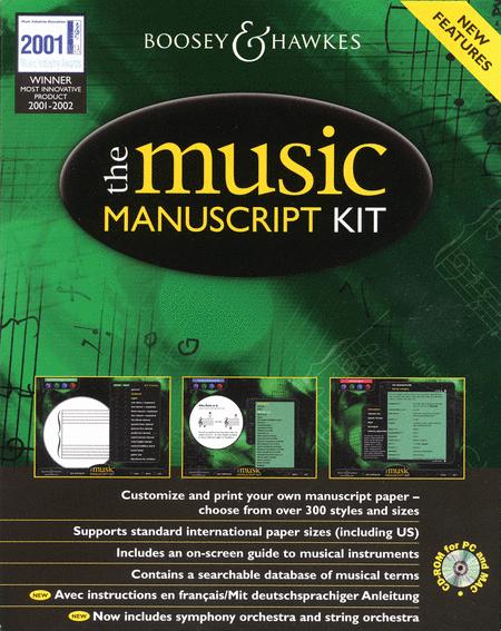 The Music Manuscript Kit
