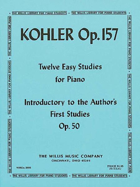 Twelve Easy Studies Op. 157