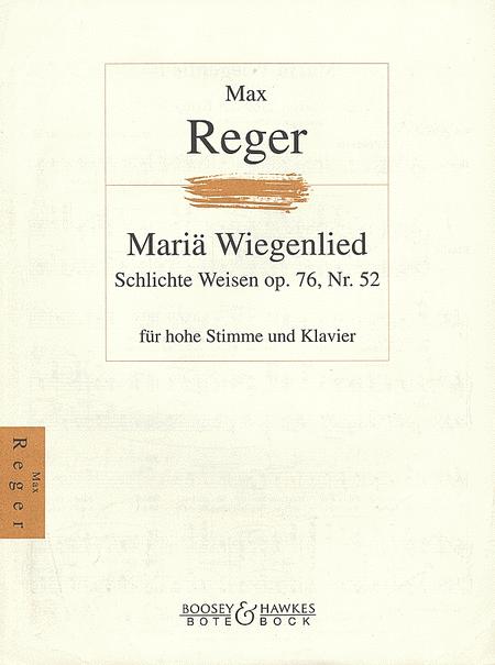 Maria Wiegenlied, Op. 76, No. 52