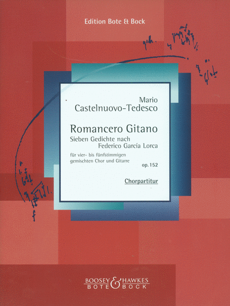 Romancero Gitano, Op. 152