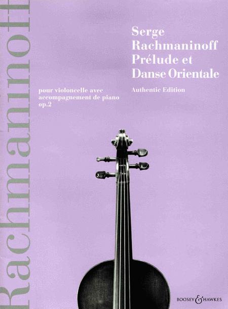 Prelude et Danse Orientale, Op. 2