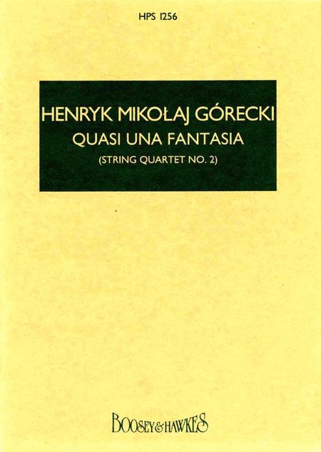 Quasi Una Fantasia (String Quartet No. 2)