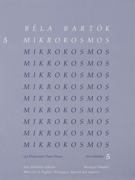 Mikrokosmos - Volume 5 (Blue)