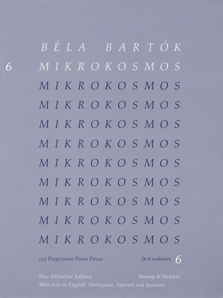 Mikrokosmos - Volume 6 (Blue)