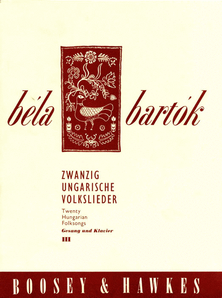 20 Hungarian Folksongs - Volume III