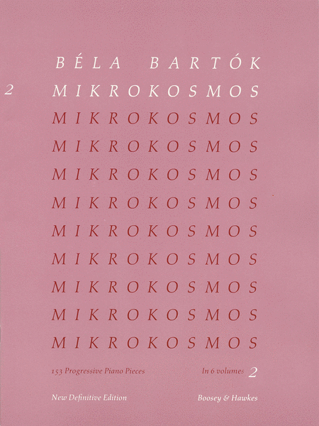 Mikrokosmos - Volume 2 (Pink)