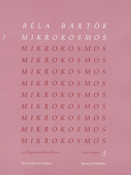 Mikrokosmos - Volume 3 (Pink)