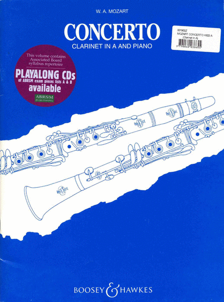 Concerto for Clarinet and Orchestra, KV 622