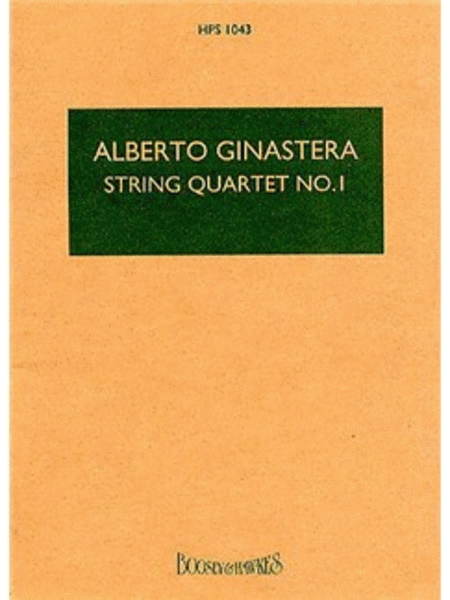String Quartet No. 1, Op. 20