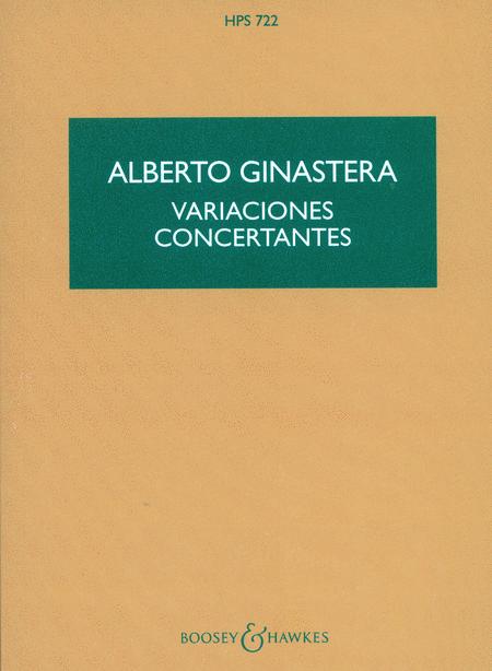 Variaciones Concertantes, Op. 23