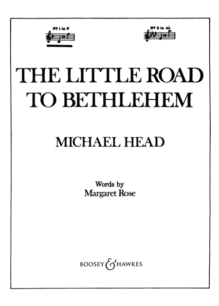 The Little Road to Bethlehem