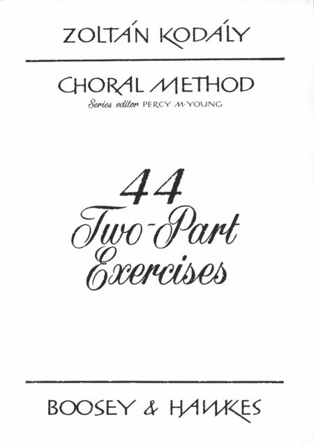 44 2-part Exercises