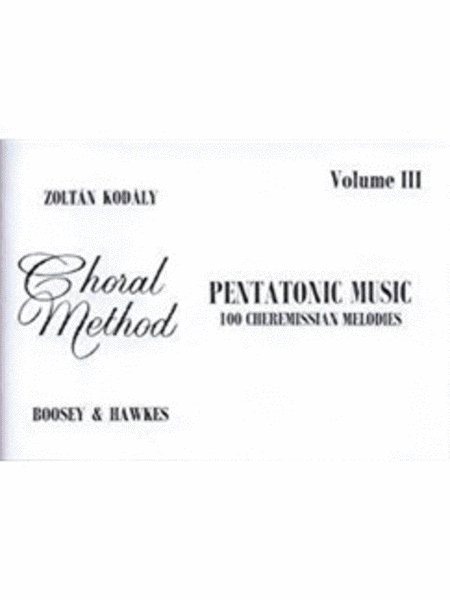 Pentatonic Music - Volume III