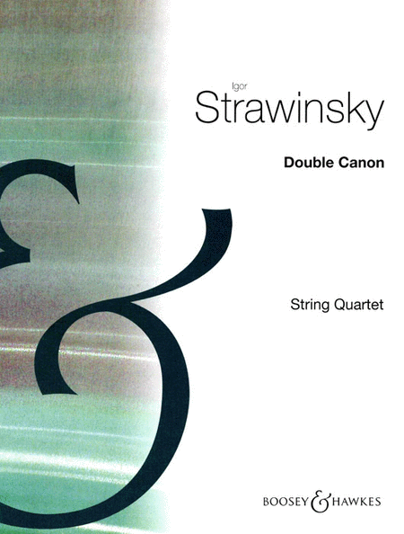 Double Canon for String Quartet