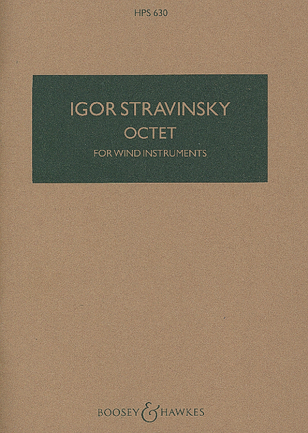 Octet for Wind Instruments (Revised 1952)