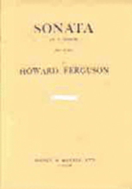Piano Sonata in F Minor, Op. 8
