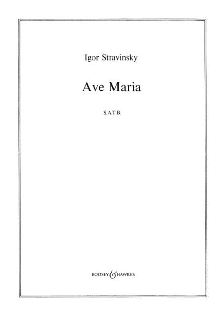 Bogoroditse Devo (Ave Maria)