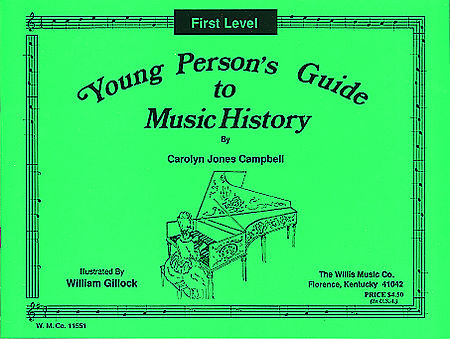Young Person's Guide to Music History - Level 1