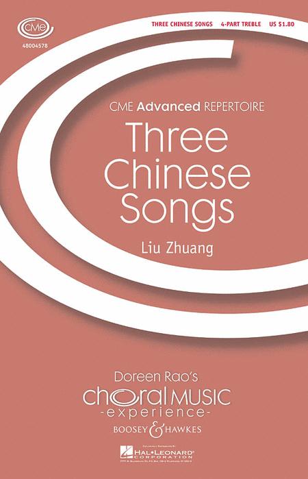 Three Chinese Songs