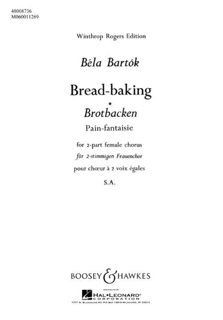 Bread-Baking (Brotbacken)