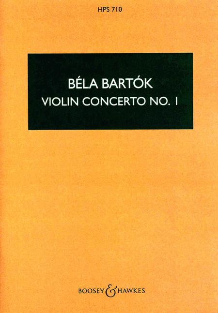 Violin Concerto No. 1, Opus Posthumous