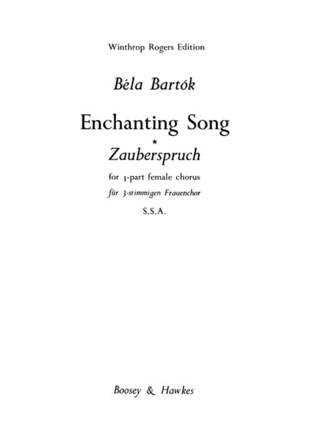 Enchanting Song