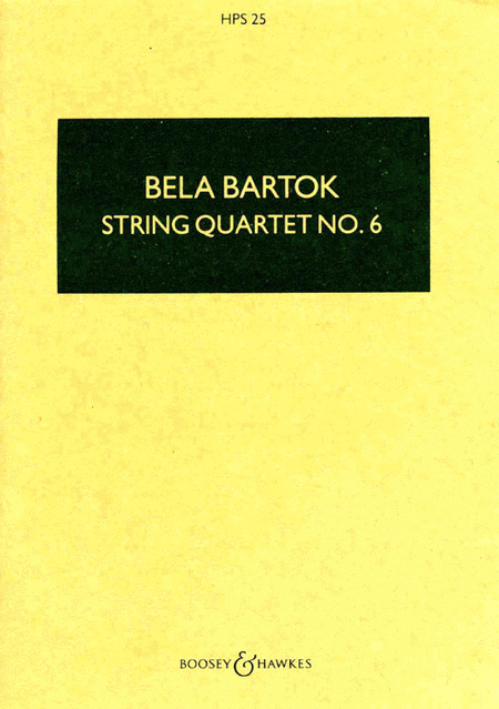 String Quartet No. 6 (1939)