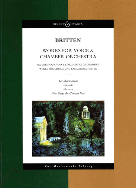 Works for Voice and Chamber Orchestra