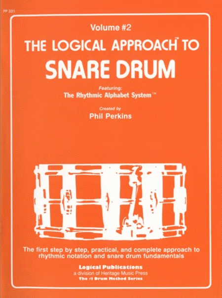 Logical Approach to Snare Drum Vol 2