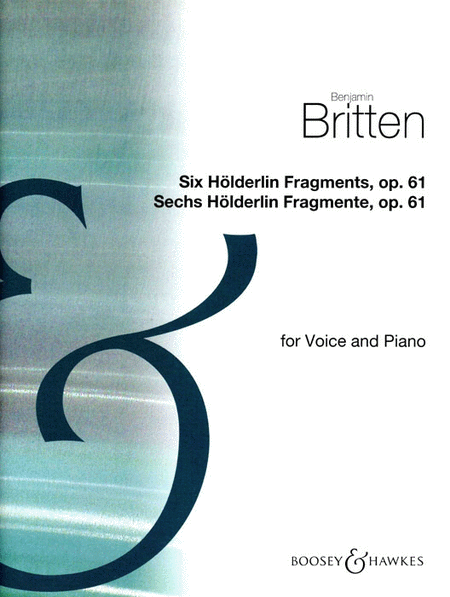 6 Holderlin Fragments  Voc/kybd