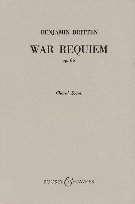 War Requiem, Op. 66