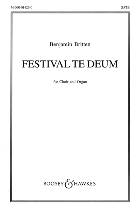 Festival Te Deum op. 32