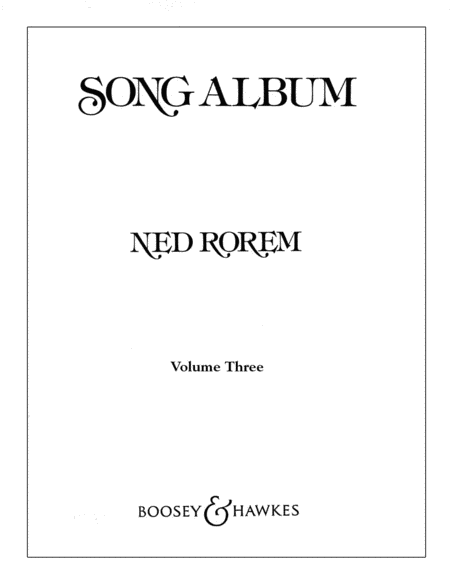 Song Album - Volume 3