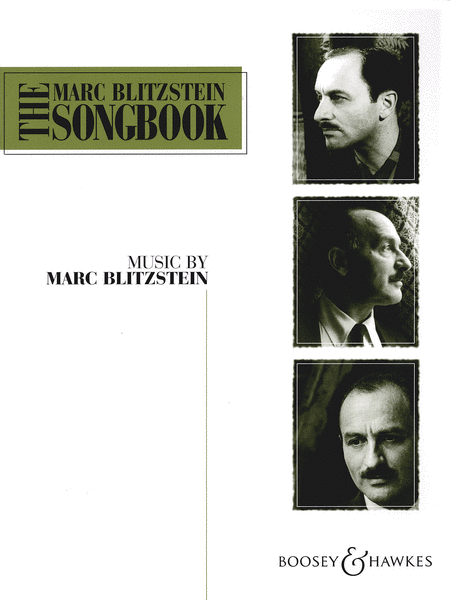 The Marc Blitzstein Songbook - Volume 1