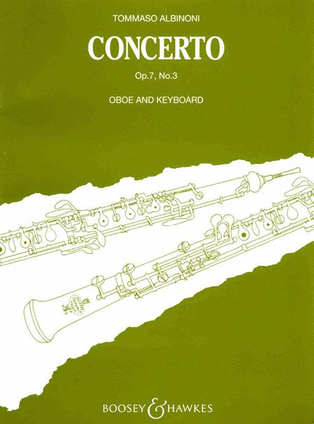 Oboe Concerto, Op. 7, No. 3