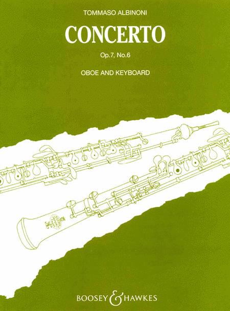 Oboe Concerto Op. 7, No. 6