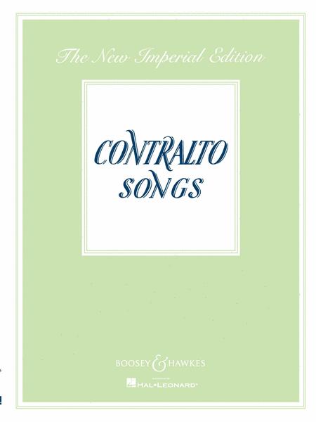 Contralto Songs