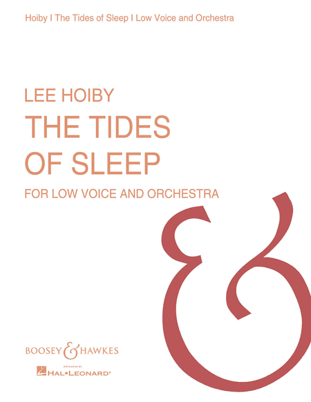 The Tides of Sleep, Op. 22