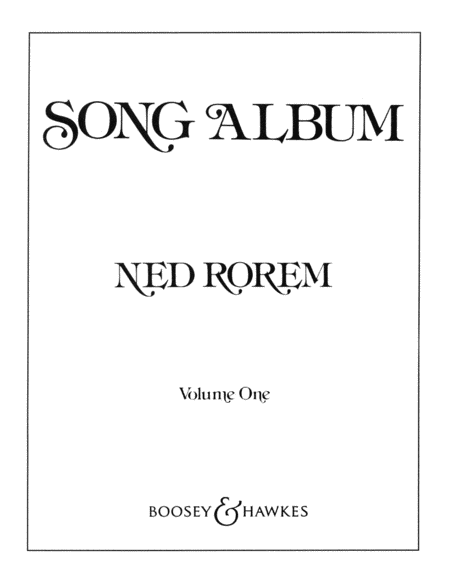 Song Album - Volume 1