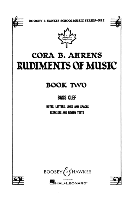 Rudiments of Music