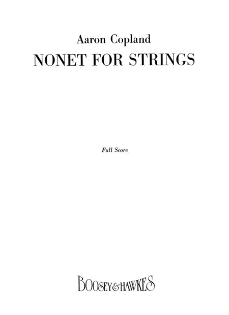 Nonet for Strings