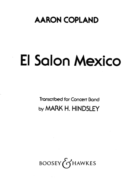 El Salon Mexico
