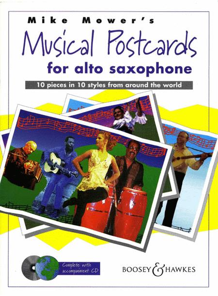Musical Postcards - Alto Saxophone