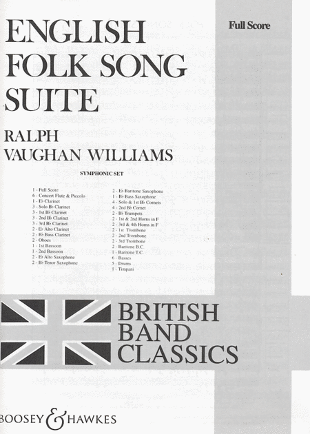 English Folk Song Suite - Full Score
